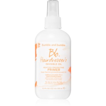 Bumble and Bumble Hairdressers Invisible Oil Heat/UV Protective Primer primer spay pentru machiaj pentru un aspect perfect al parului