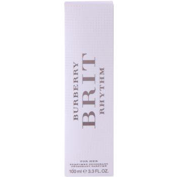Burberry Brit Rhythm дезодорант з пульверизатором для жінок 4