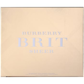 Burberry Brit Sheer darilni seti 2