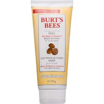 Burt's Bees Shea Butter Vitamin E lotiune de corp unt de shea  170 g
