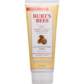 Burt's Bees Shea Butter Vitamin E lotiune de corp unt de shea