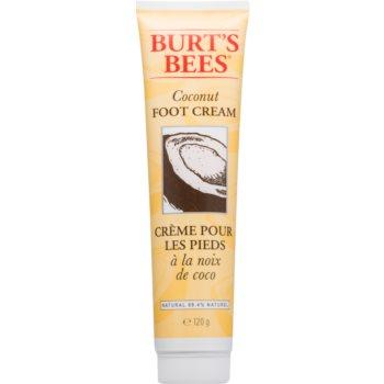 Burt's Bees Coconut cremă de netezire pentru picioare cu cocos