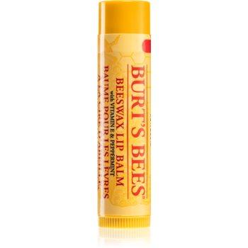 Burt's Bees Lip Care balsam de buze cu ceara de albine poza noua