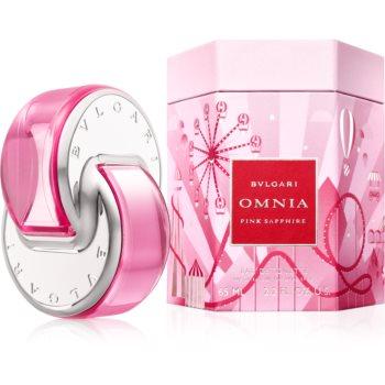 Bvlgari Omnia Pink Sapphire Eau de Toilette pentru femei editie limitata Omnialandia