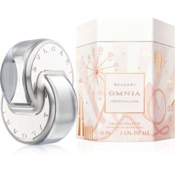 Bvlgari Omnia Crystalline Eau de Toilette pentru femei editie limitata Omnialandia