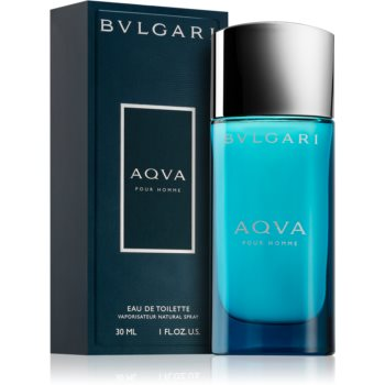 Bvlgari AQVA Pour Homme eau de toilette pentru barbati 30 ml