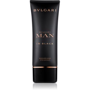 Bvlgari Man in Black balsam după bărbierit pentru bărbați 100 ml