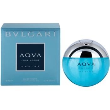 Bvlgari AQVA Marine Pour Homme eau de toilette pentru barbati 50 ml