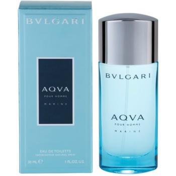 Bvlgari AQVA Marine Pour Homme eau de toilette pentru barbati 30 ml