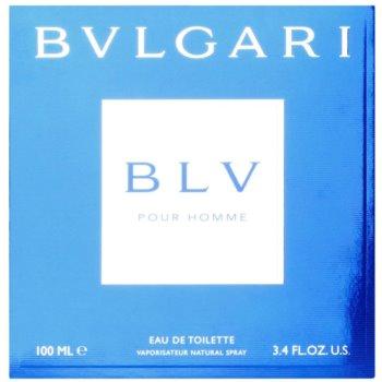 Bvlgari BLV pour homme Eau de Toilette pentru barbati 4