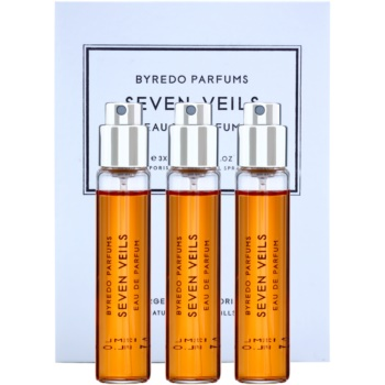 Byredo Seven Veils парфюмна вода унисекс  (3 бр.пълнители с пулверизатор)