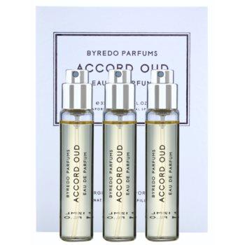 Byredo Accord Oud Eau de Parfum unisex  Dreifach-Nachfüllpackung mit Zerstäuber