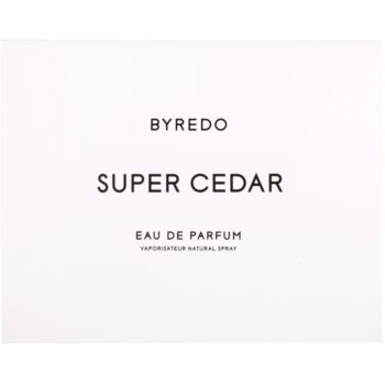 Byredo Super Cedar Eau de Parfum unisex 4