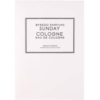 Byredo Sunday Cologne kolonjska voda uniseks 4