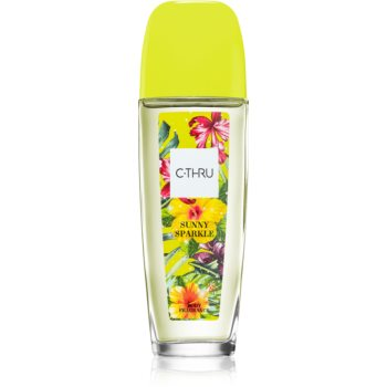 C-THRU Sunny Sparkle spray pentru corp pentru femei