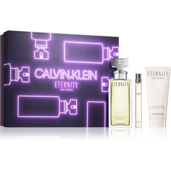 Calvin Klein Eternity parfémovaná voda 100 ml + parfémovaná voda 10 ml + parfémované tělové mléko 50 ml
