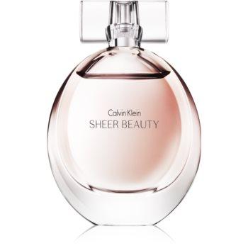Calvin Klein Sheer Beauty Eau de Toilette pentru femei 50 ml