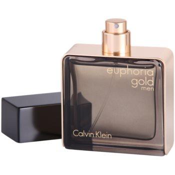 Calvin Klein Euphoria Gold Men Eau de Toilette pentru barbati 3