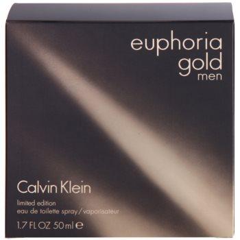 Calvin Klein Euphoria Gold Men Eau de Toilette pentru barbati 4