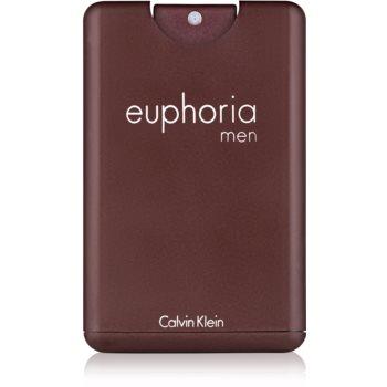 Calvin Klein Euphoria Men eau de toilette pentru barbati 20 ml pachet pentru calatorie
