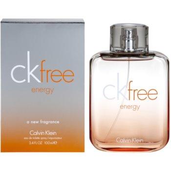 Calvin Klein CK Free Energy toaletní voda pro muže