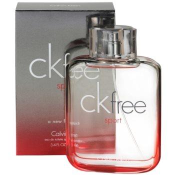 Calvin Klein CK Free Sport Eau de Toilette pentru barbati 1