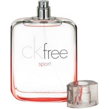 Calvin Klein CK Free Sport Eau de Toilette pentru barbati 3