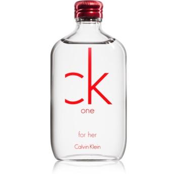 Fotografie Calvin Klein CK One Red Edition toaletní voda pro ženy 50 ml
