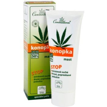 Cannaderm Konopka pomada  para pele muito seca 1