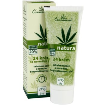 Cannaderm Natura creme para pele normal 1