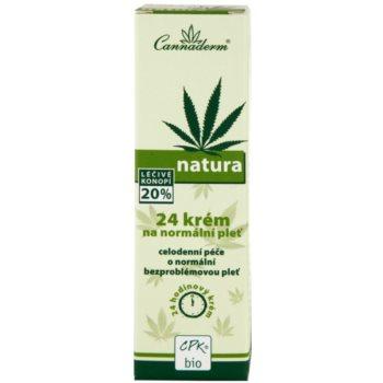 Cannaderm Natura creme para pele normal 3
