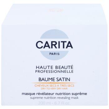 Carita Haute Beauté Professionnelle vlažilna in hranilna maska za suhe in poškodovane lase 2