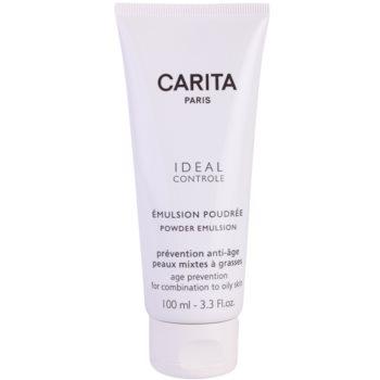 Fotografie Carita Ideal Controle emulze s pudrovým efektem pro smíšenou a mastnou pleť 100 ml
