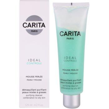 Carita Ideal Controle pianka oczyszczająca do skóry tłustej i mieszanej 1