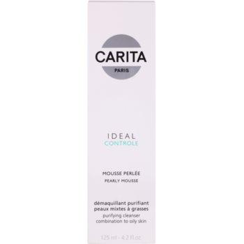 Carita Ideal Controle pianka oczyszczająca do skóry tłustej i mieszanej 2