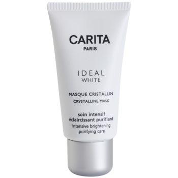 Carita Ideal White posvetlitvena maska za obraz proti pigmentnim madežem