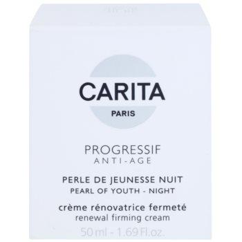 Carita Progressif Anti-Age creme de noite renovador para refirmação de pele 3