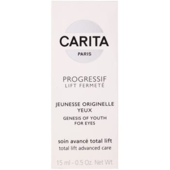 Carita Progressif Lift Fermeté gel de contorno de olhos antirrugas, anti-olheiras, anti-inchaços 3