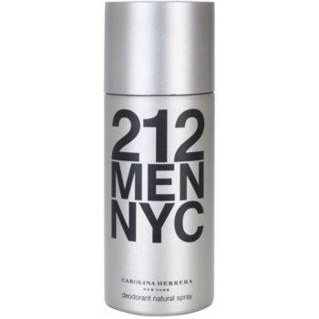 Fotografie Carolina Herrera 212 NYC Men deospray pro muže 150 ml