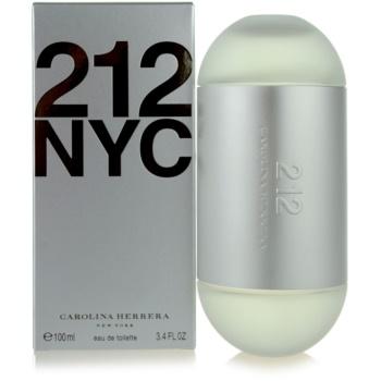 Fotografie Carolina Herrera 212 NYC toaletní voda pro ženy 100 ml