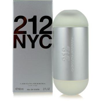 Carolina Herrera 212 NYC Eau de Toilette pentru femei 60 ml