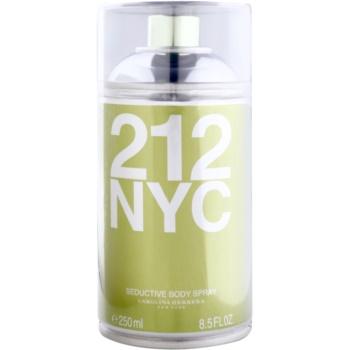 Carolina Herrera 212 NYC spray pentru corp pentru femei 250 ml