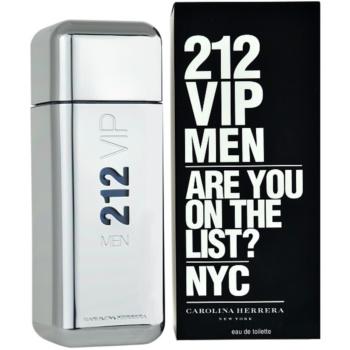 Fotografie Carolina Herrera 212 VIP Men toaletní voda pro muže 100 ml
