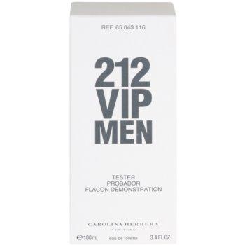 Carolina Herrera 212 VIP Men туалетна вода тестер для чоловіків 3