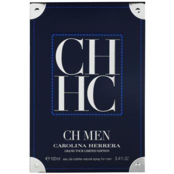 Carolina Herrera CH Men Grand Tour Eau de Toilette pentru barbati 1