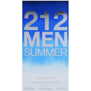 Carolina Herrera 212 Men Summer toaletní voda pro muže 4