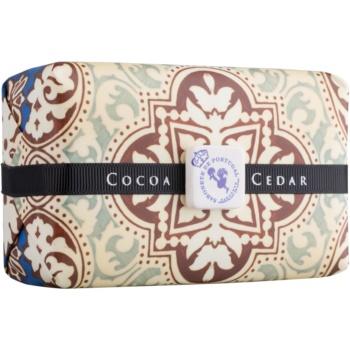 Castelbel Portuguese Tile Cocoa & Cedar săpun de lux  300 g