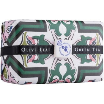 Castelbel Portuguese Tile Olive Leaf & Green Tea săpun de lux  300 g