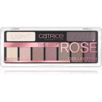 Catrice The Dry Rosé Collection paletã cu farduri de ochi imagine produs