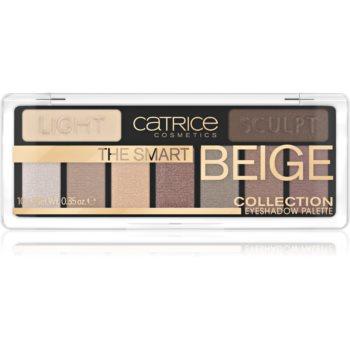 Catrice The Smart Beige Collection paletã cu farduri de ochi imagine produs